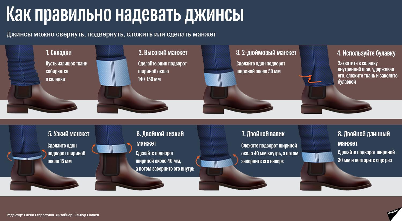 Как модно носить джинсы - Sputnik Грузия