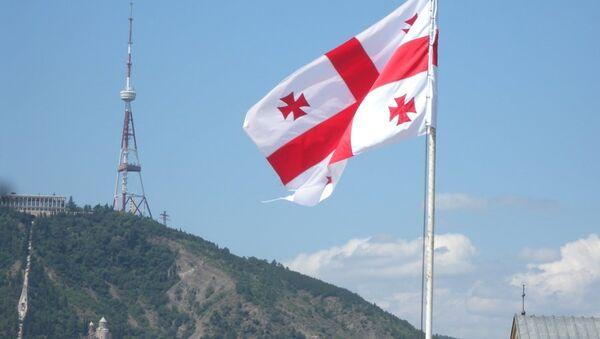 Грузия флаг - Sputnik Грузия