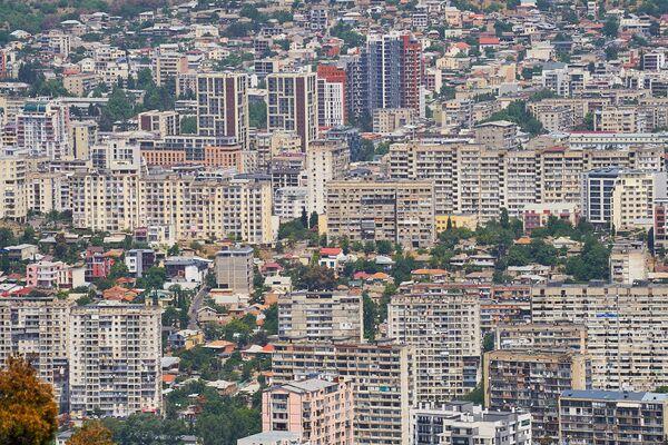 Хотя какой он, современный стиль жилых кварталов Тбилиси?  - Sputnik Грузия