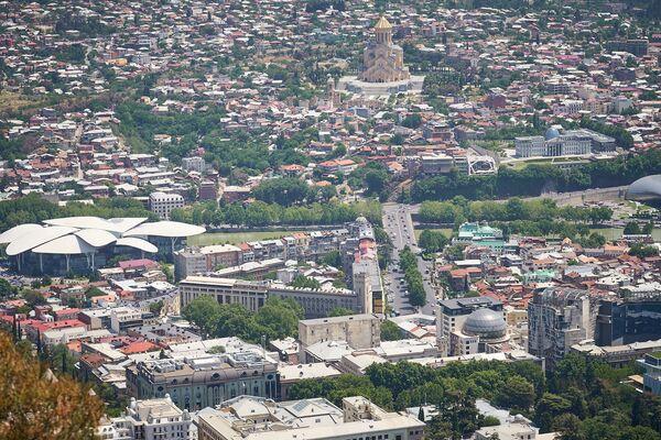 Другая часть города - другая архитектура - Sputnik Грузия
