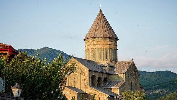 Православный храм Светицховели в городе Мцхета - Sputnik Грузия