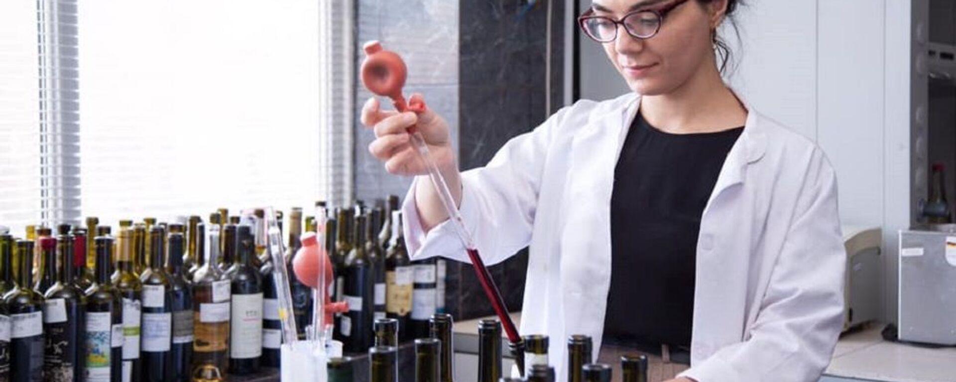 ქართული ღვინის ხარისხის შემოწმება - Sputnik საქართველო, 1920, 04.09.2021
