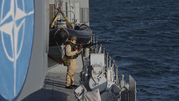 Военные учения НАТО в Черном море  - Sputnik Грузия