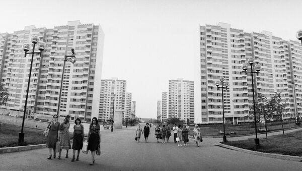 Олимпийская деревня в Москве - Sputnik Грузия