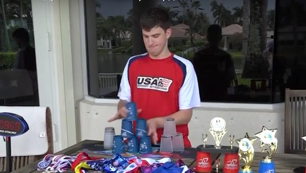 Американский подросток поставил рекорд в капстекинге - Sputnik Грузия