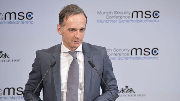 Министр иностранных дел Германии Хайко Маас  - Sputnik Грузия