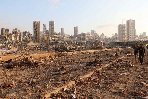 Фото из эпицентра взрыва похожи на картины апокалипсиса - Sputnik Грузия