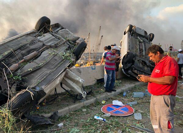 Размеры ущерба от мощного взрыва еще предстоит оценить - Sputnik Грузия