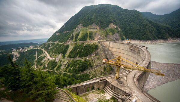 Ингури ГЭС и Ингурское водохранилище - Sputnik Грузия
