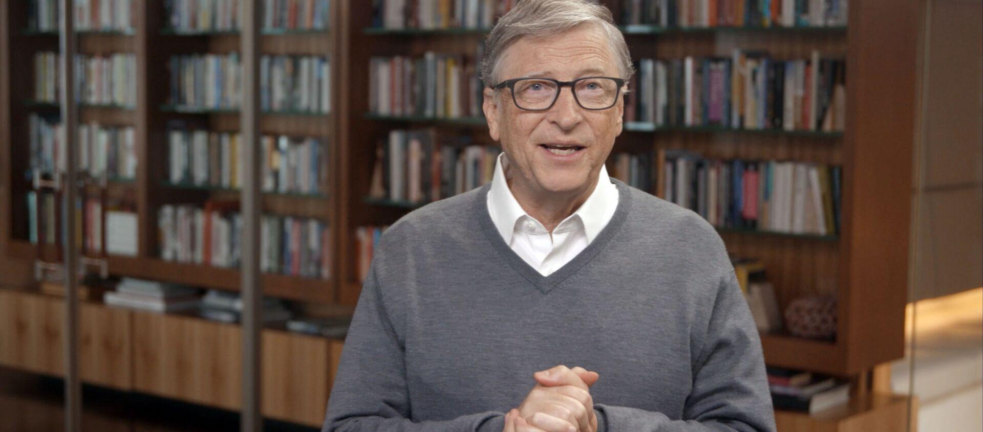 Американский предприниматель и общественный деятель Билл Гейтс - Sputnik Грузия, 1920, 30.09.2020