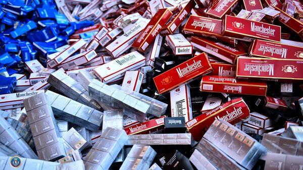 Контрабандные сигареты - Sputnik Грузия