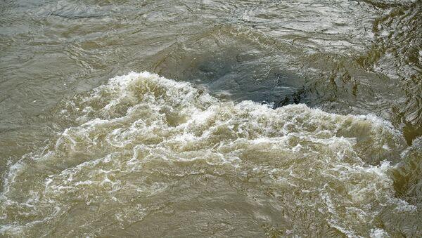Горная река - быстрое течение - Sputnik Грузия