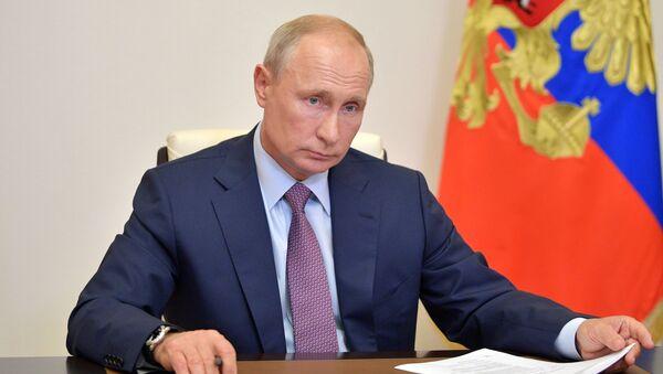 Президент России Владимир Путин - Sputnik Грузия