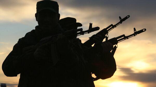 Пограничная полиция МВД Грузии. Задержание нарушителей - Sputnik Грузия