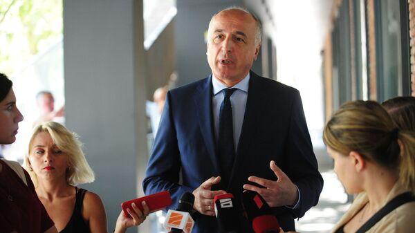 Генеральный секретарь партии Лело Бадри Джапаридзе - Sputnik Грузия