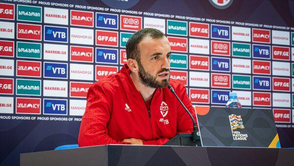 Ника Квеквескири - полузащитник сборной Грузии по футболу - Sputnik Грузия