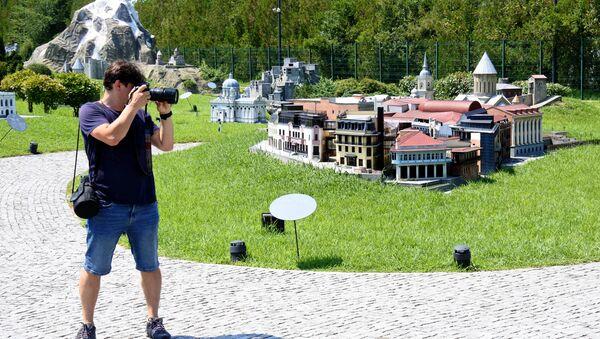 Парк Грузия в миниатюре у черноморского побережья  - Sputnik Грузия
