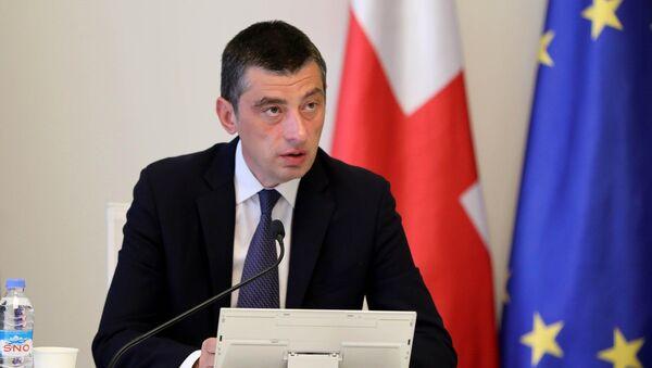 Георгий Гахария на заседании правительства - Sputnik Грузия