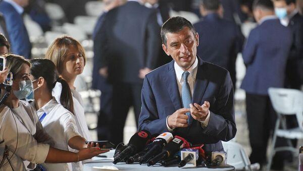 Георгий Гахария. Грузинская мечта - презентация партийного списка и будущего премьера  - Sputnik Грузия