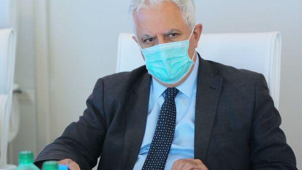 Глава Национального центра по контролю заболеваний и общественного здоровья Грузии Амиран Гамкрелидзе   - Sputnik Грузия