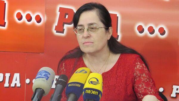 Эксперт по вопросам образования Манана Николаишвили  - Sputnik Грузия