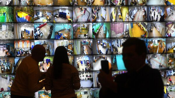 Информационный центр Центральной избирательной комиссии РФ в Москве. Единый день голосования 2020 - Sputnik Грузия