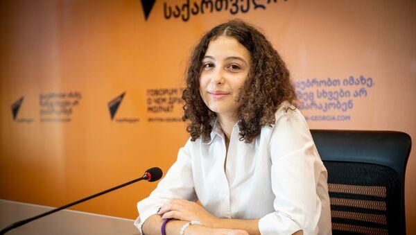 Мариам Бондаренко - Sputnik Грузия