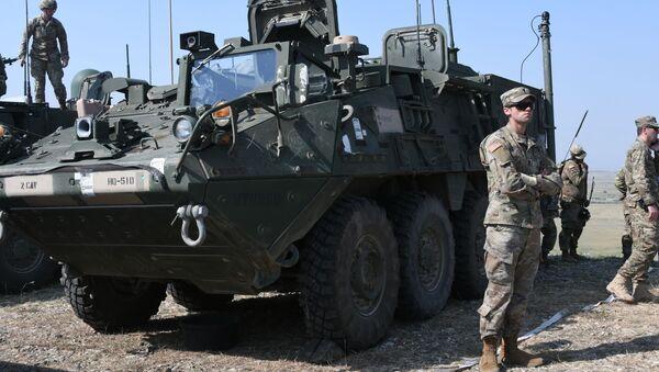 Международные военные учения НАТО Надежный партнер - 2020 (Noble Partner 2020). Церемония закрытия - Sputnik Грузия