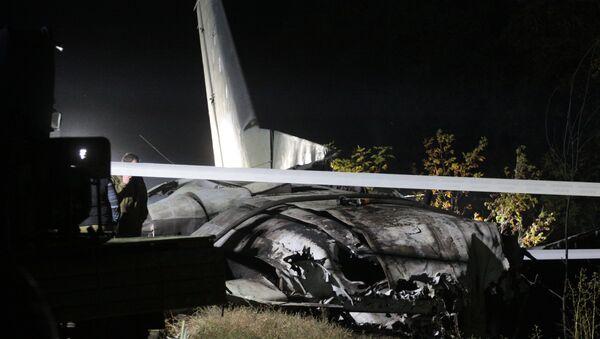 Крушение Ан-26 под Харьковом - Sputnik Грузия
