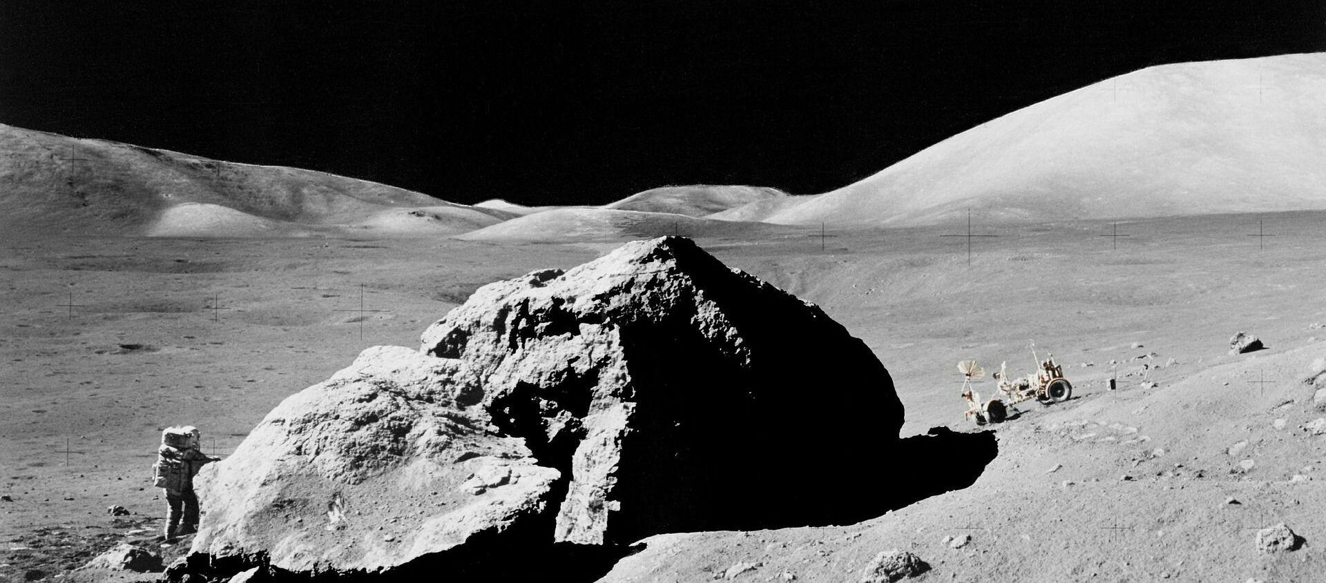მთვარის ზედაპირი - Sputnik Грузия, 1920, 04.02.2021