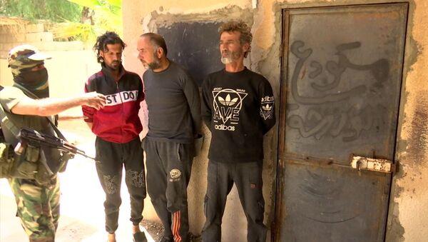 Задержание боевиков вблизи г. Тадмор в Сирии - Sputnik Грузия