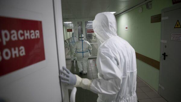 Лечение пациентов с коронавирусом в России - пандемия COVID 19  - Sputnik Грузия