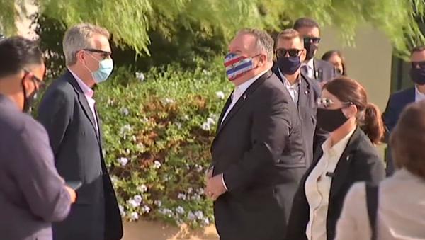 Зачем госсекретарь США приехал в Южную Европу - видео - Sputnik Грузия