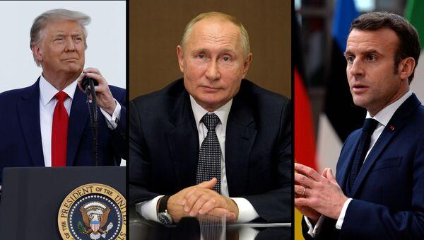 Россия, США и Франция сделали заявление по Карабаху - видео - Sputnik Грузия