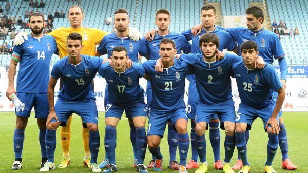 Игроки сборной Азербайджана по футболу - Sputnik Грузия