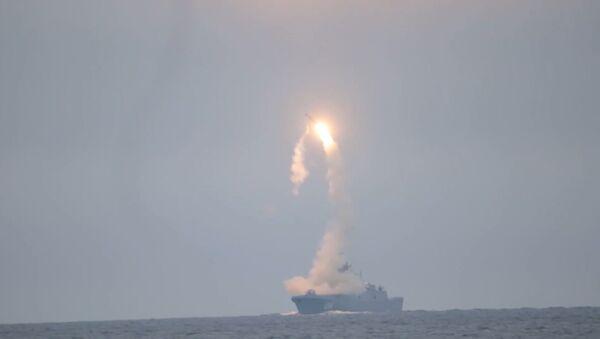 """Испытания гиперзвуковой ракеты """"Циркон"""" показали на видео - Sputnik Грузия"""