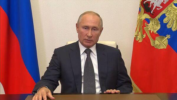 Путин об испытаниях гиперзвуковой ракеты Циркон: это большое событие для России - Sputnik Грузия