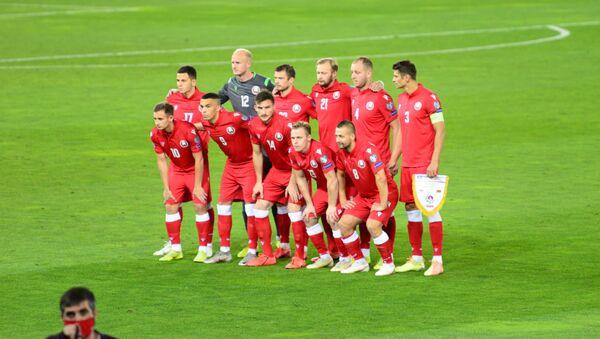 Сборная Беларуси перед матчем с командой Грузии в рамках Лиги наций УЕФА - Sputnik Грузия