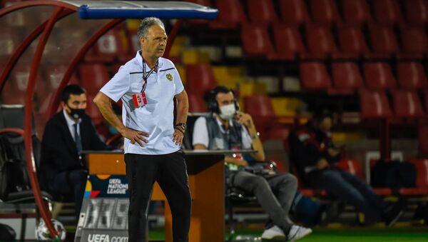 Главный тренер сборной Армении Хоакин Капаррос - Sputnik Грузия