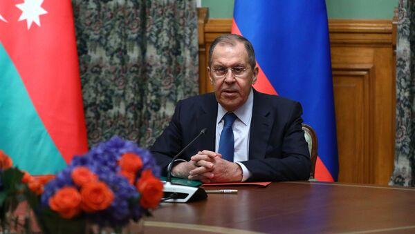 В Карабахе объявлено перемирие с 10 октября - Сергей Лавров - Sputnik Грузия