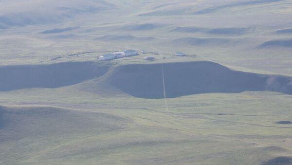Грузино-азербайджанская граница - территория у комплекса Давид Гареджи - Sputnik Грузия