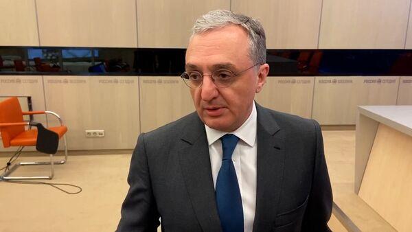 Глава МИД Армении рассказал о ситуации в Карабахе - эксклюзив Sputnik - Sputnik Грузия