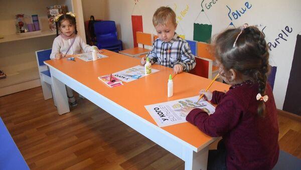 ბავშვები და COVID-19: როგორ მუშაობენ საბავშვო ბაღები თბილისში პანდემიის პირობებში - Sputnik საქართველო