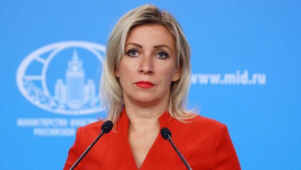 LIVE_СПУТНИК: Брифинг официального представителя МИД РФ Марии Захаровой - Sputnik Грузия