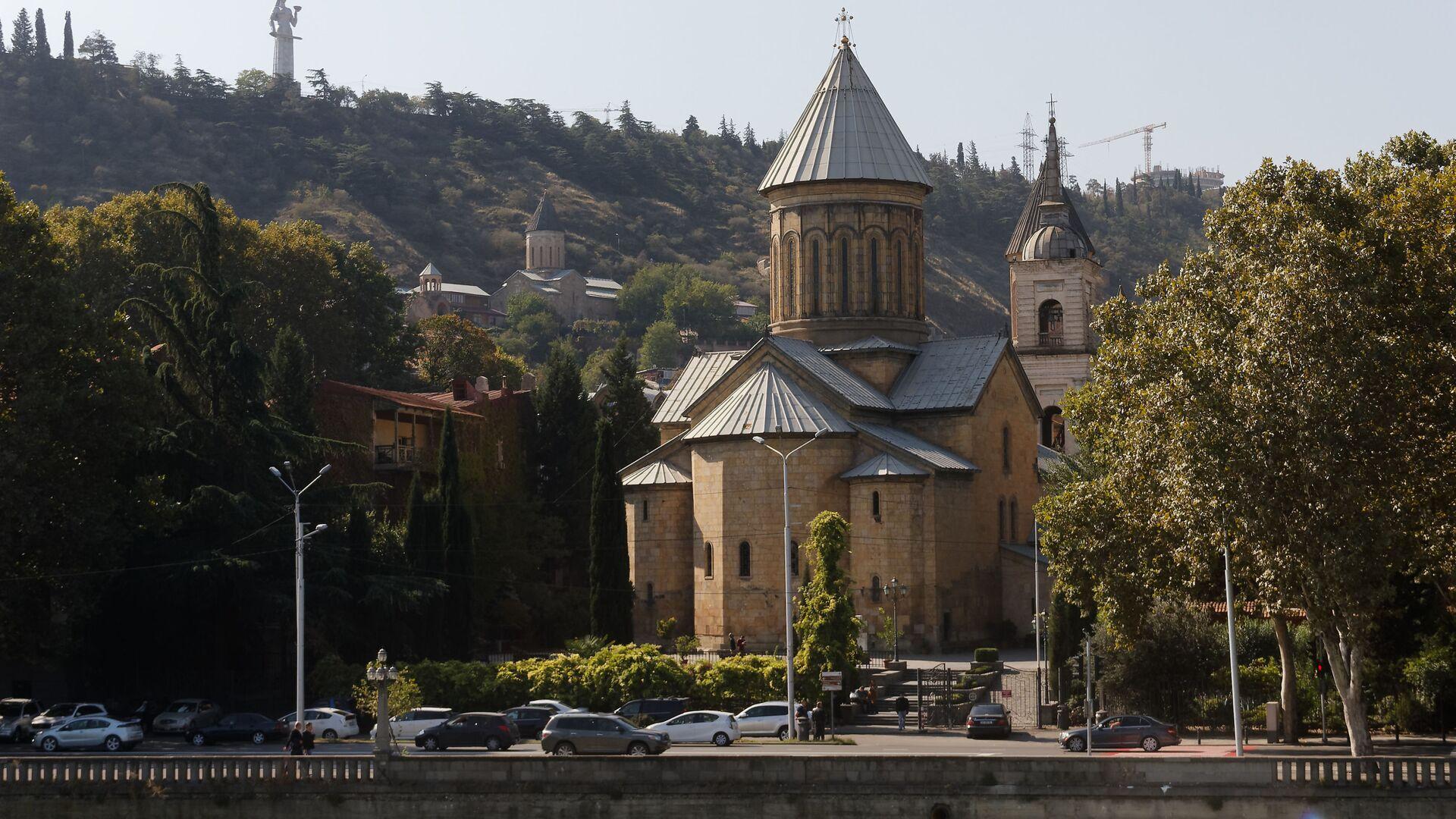 Православный храм Сиони - Sputnik Грузия, 1920, 15.10.2021