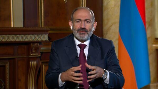 Что заявил Никол Пашинян по проблеме Карабаха - полная версия видео - Sputnik Грузия