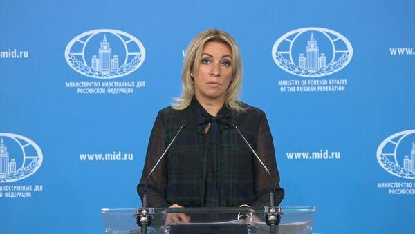 Захарова: Москва ответит на новые антироссийские санкции Евросоюза - Sputnik Грузия