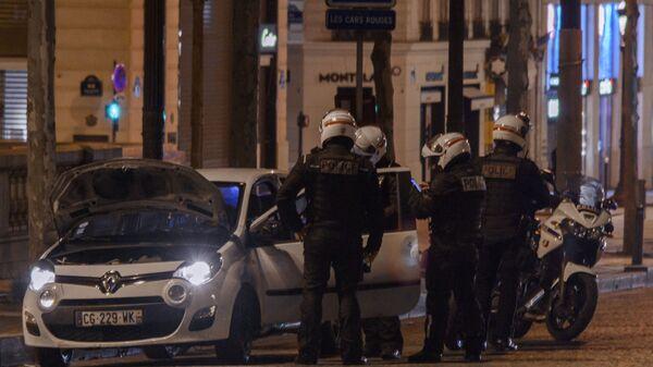 პოლიცია პარიზში - Sputnik საქართველო