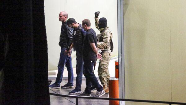 Спецоперация по освобождению заложников в филиале Банка Грузии в Зугдиди - Sputnik Грузия