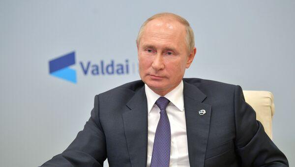 Президент РФ В. Путин принял участие в заседании дискуссионного клуба Валдай - Sputnik Грузия